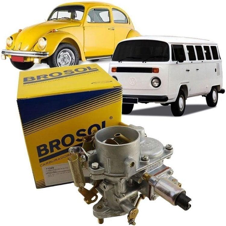 CARBURADOR BROSOL H30: MOTOR VW 1500 E 1600